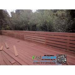 墨尔本 户外围栏 护手1M高 140x19 merbau decking 面板封板,盖面,围栏一体小门 220 AUD/M+GST,Melbourne outdoor fence 1M high 140x19 merbau decking