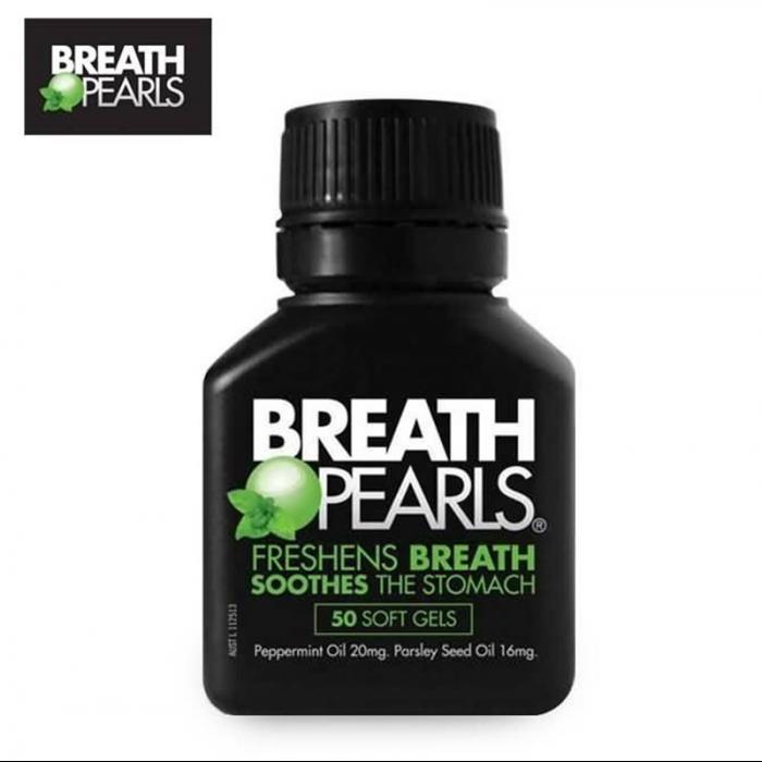 Breath Pearls 口气清新胶囊 50粒