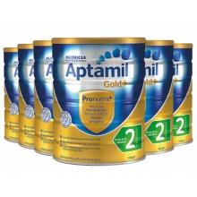 Aptamil 爱他美 金装奶粉二段 六罐装(包邮,包税)