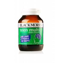 澳洲代购直邮 Blackmores 澳佳宝青少年益脑复合维生素胶囊 男孩 60粒