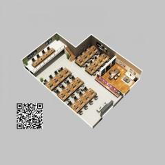 澳洲购物全屋定制集成墙板中式法式风格茶室包厢办公室大堂案例